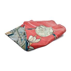 新品未使用展示品 HERMES エルメス カレ90 Face au large 大判スカーフ シルク100% マルチ【本物保証】【中古】