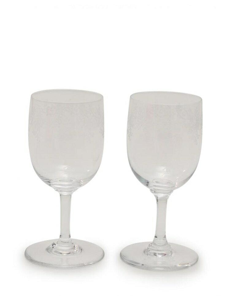 新品未使用展示品 Baccarat バカラ ワイングラス ペア クリア クリスタルガラス【本物保証】【中古】