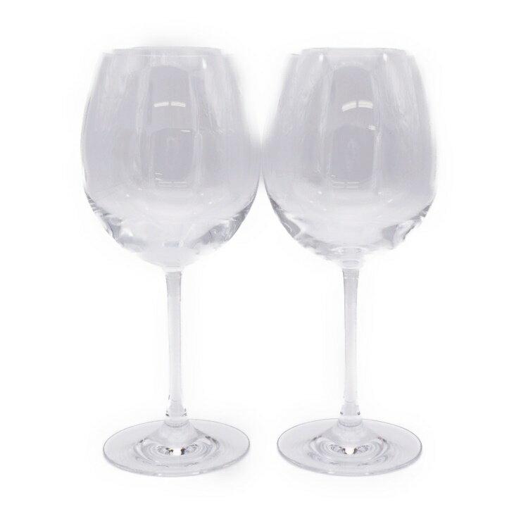 新品未使用展示品 Baccarat バカラ デギュスタシオン ワイングラス 2客セット クリスタルガラス【本物保証】【中古】