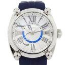 美品 SEIKO セイコー ガランテ スプリングドライブGMT 腕時計 SBLA111 ステンレススチール ホワイトシェル文字盤【本物保証】【中古】