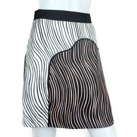 新品未使用展示品 3.1 Phillip Lim 3.1フィリップリム ミニスカート シルク ホワイト ピンク ブラック 表記サイズ0【本物保証】【中古】