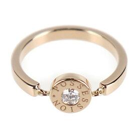 美品 PIAGET ピアジェ ポセションリング リング・指輪 750PG(K18) PG 実寸7号 表記サイズ ♯48【本物保証】【中古】