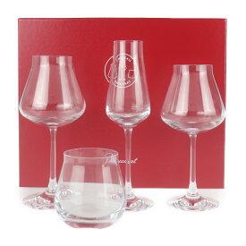新品未使用展示品 Baccarat バカラ マイシャトー グラス クリスタル クリア 4個セット ワイングラス【本物保証】【中古】