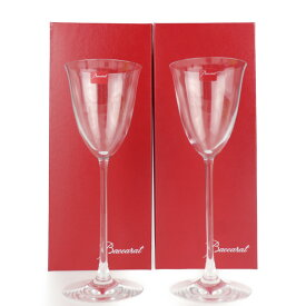 新品未使用展示品 Baccarat バカラ グラス クリスタルガラス ワイングラス ペア フィラオ【本物保証】【中古】