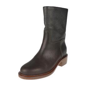 超美品 CHANEL シャネル ブーツ G30254 レザー ブラウン ココマーク 参考サイズ24cm 表記サイズ 37C【本物保証】【中古】