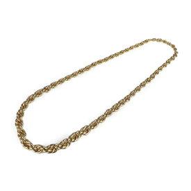 美品 Christian Dior クリスチャンディオール ネックレス メタル ゴールド ヴィンテージ チェーンネックレス【本物保証】【中古】