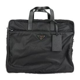 美品 PRADA プラダ ビジネスバッグ V361S ナイロン ブラック 2way ショルダー ブリーフケース【本物保証】【中古】