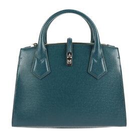 超美品 Vivienne Westwood ヴィヴィアンウエストウッド ソフィアミディアム ハンドバッグ 42020048 合成皮革 ブルー系 2way【本物保証】【中古】