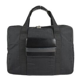 Dunhill ダンヒル ビジネスバッグ ナイロン レザー ブラック ブリーフケース【本物保証】【中古】