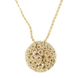 美品 Christian Dior クリスチャンディオール ネックレス メタル ゴールド ペンダント【本物保証】【中古】