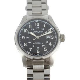 美品 HAMILTON ハミルトン カーキ フィールド 腕時計 H70625133 ステンレススチール ブラック【本物保証】【中古】