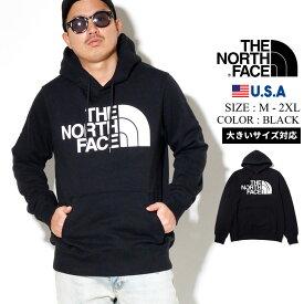 THE NORTH FACE ザ ノースフェイス パーカー メンズ 大きいサイズ プルオーバーパーカー スウェット ロゴ プリント B系 ファッション ヒップホップ ストリート系 NF0A4M4B Men's Half Dome Pullover Hoodie おうちコーデ
