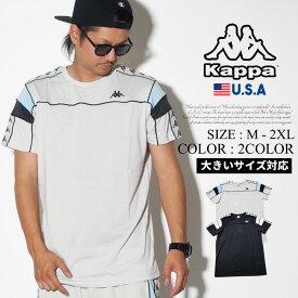 KAPPA カッパ tシャツ メンズ 半袖 サイドライン BANDA ARAR 304PMX0