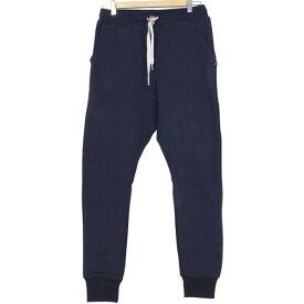 SWEET PANTS スイートパンツ Loose Pants メンズ スウェットパンツ NAVY ネイビー 紺 サルエルパンツ ルーズフィット スエット フランス フレンチテリー レディース 聖林公司 HRM 送料無料