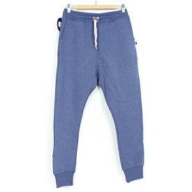 SWEET PANTS スイートパンツ Loose Pants TERRY メンズ スウェットパンツ INDIGO インディゴ 霜降り ブルー スリムパンツ サルエル スエット フランス フレンチテリー レディース 聖林公司 HRM 送料無料