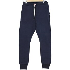 SWEET PANTS スイートパンツ Loose Pants TERRY メンズ スウェットパンツ NAVY ネイビー 紺 スリムパンツ サルエル スエット フランス フレンチテリー レディース 聖林公司 HRM 送料無料