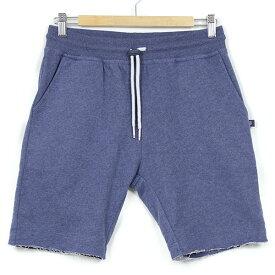 SWEET PANTS スイートパンツ Basic Shorts TERRY メンズ スウェットショーツ INDIGO インディゴ ブルー ショートパンツ スリム テーパード スエット フランス フレンチテリー レディース 聖林公司 HRM 送料無料