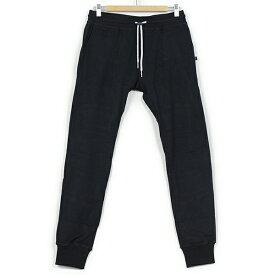 SWEET PANTS スイートパンツ Slim Pants TERRY メンズ スウェットパンツ BLACK ブラック 黒 スリムパンツ テーパード スエット フランス フレンチテリー レディース 聖林公司 HRM 送料無料