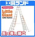 (代引不可・直送品)ハセガワ長尺専用脚立LG-10121【6m】(LittleGiant)【長谷川工業HASEGAWA】