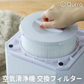空気清浄機 フィルター 交換用 Qurra クルラ 3R-APF01 アイレ タッチ スクエア おすすめ