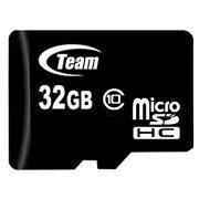 TEAMmicroSDカード32GBclass10SDアダプタ付きSDHCTG032G0MC28A