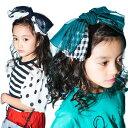 【10/20火限定!最大1000円OFFクーポン】minau(ミナウ) カラフル リボン ターバン ヘアバンド 子供 キッズ 女の子 …