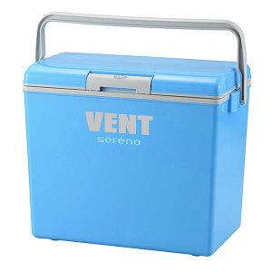 【4/30(金)〜5/5(水)最大10%OFFクーポン】VSR-♯30【クーラーボックス】VENT sereno(バンセレーノ)#30 ブルー 30.5L ペットボトル 缶ジュース 保冷力 日本製 アウトドア レジャー 行楽 釣り フィッシ