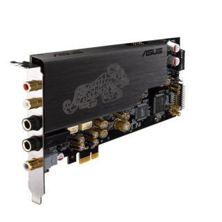 ASUSTeK ESSENCE/STX/II 192kHz/24bitのハイレゾ音源の再生に対応したASUS製のサウンドカード