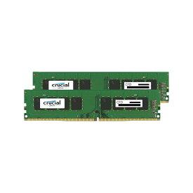 CFD W4U2400CM-8G Crucial スタンダードモデル DDR4-2400 デスクトップ用メモリ 288pin DIMM 8GB 2枚組