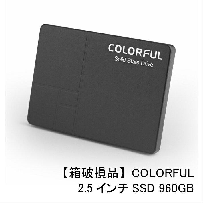 【箱破損品】COLORFUL SL500 960G SATA 6Gb/s (SATA3.0) 2.5インチSSD 960GB【数量限定特価!】