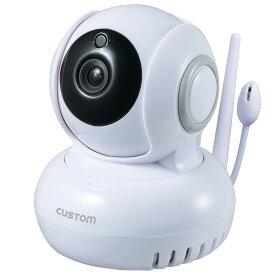 CUSTOM IPC-02TH 温湿度センサー付 IPカメラ