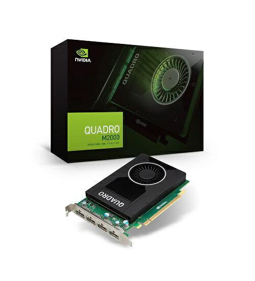 エルザ NVIDIA Quadro M2000 [EQM2000-4GER]最新Maxwell アーキテクチャ採用のグラフィックスプロセッサ搭載、DisplayPort 1.2 コネクタを4系統搭載した補助電源不要の1スロットグラフィックスボード