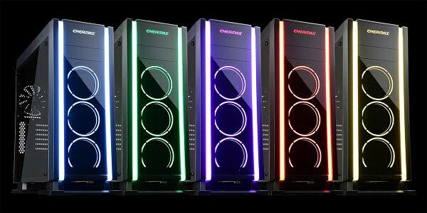 ENERMAX ECA3500BA-RGB SABERAY ENERMAX製ミドルタワーPCケース「SABERAY(セバレイ)」