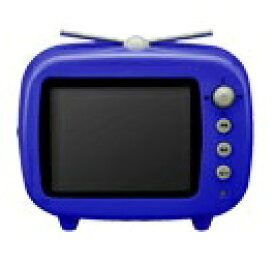 グリーンハウス GHV-DF35TVB 「GAUDI」レトロポップなTV型♪FMも聴けるデジタルフォトフレーム!(ブルー)