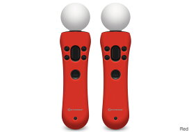 Hyperkin PS MOVE GelShell Wand Silicon(Red) M07227-RD PS Moveモーションコントローラー用のシリコン保護ケース(VR0036)