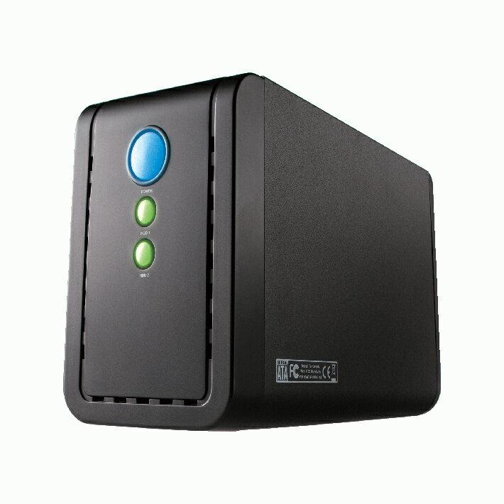 玄人志向 GW3.5ACX2-U3.1AC USB3.1接続 2.5/3.5型 SATA HDD/SSD x2 ケース(ブラック)