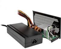 玄人志向 KRPW-AC120W 120WのACアダプターと変換基盤のACアダプター電源セット 無効電力を削減するActivePFC回路を搭載したエコ電源