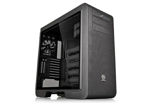 Thermaltake CA-1C6-00M1WN-03 Core V51 TG サイドに4mm厚の強化ガラスパネルを搭載。優れた拡張性と冷却性能を実現するミドルタワー型PCケース(CS7121)