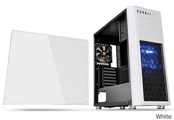 Thermaltake CA-1J5-00M6WN-01 Versa H26 White /w casefan コストパフォーマンスに優れた日本オリジナルモデル。あらゆる構成での組みやすさを追求したミドルタワー型PCケース(CS7071)
