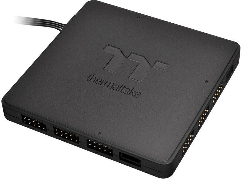 サーマルテイク CL-O015-PL00BL-A TT Sync Controller TT Premium Edition RGB LEDコントローラー