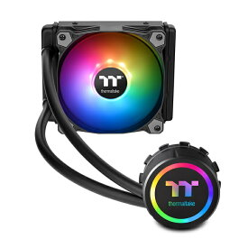 Thermaltake CL-W232-PL12SW-A Water 3.0 120 ARGB Sync 一体型水冷CPUクーラー(FN1281)