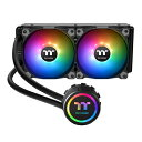Thermaltake CL-W233-PL12SW-A Water 3.0 240 ARGB Sync 一体型水冷CPUクーラー(FN1282)