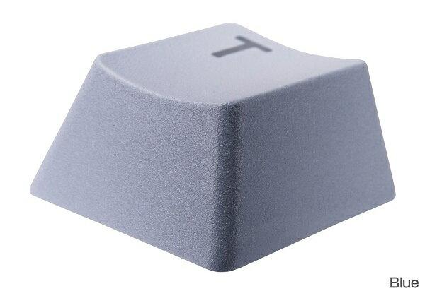 Tt eSPORTS EA-DBC-PBTBLU-01 BATTLE DRAGON 38-KEY PBT DOUBLESHOT KEYCAP SET Blue 印字が摩耗しない2色成型を採用。優れた耐久性を実現するCherry MXキースイッチ対応キーキャップセット(KB423)