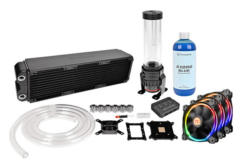 Thermaltake CL-W113-CA12SW-A Pacific RL360 D5 Water Cooling Kit Pacific RL360ラジエーター同封モデル