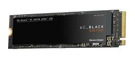 【エントリーでポイント5倍】WesternDigital WDS500G3X0C WD Black SN750 SSD M.2 PCIe Gen 3 x4 with NVM Express 500GB M.2 2280