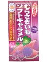 140円 むらさきいもソフトキャラメル[1箱 10個入]【駄菓子 キャラメル セイカ食品 紫芋 イモ まとめ買い】