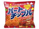 30円 15gハートチップル [1箱 30袋入]【駄菓子 リスカ お菓子 スナック 焼肉焙煎にんにく チップス】