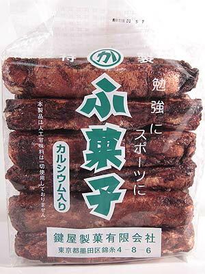 鍵屋製菓 15本入りふ菓子 [1袋 15本入] 【駄菓子】