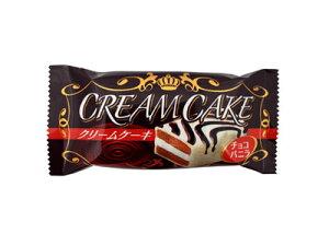 30円 クリームケーキ チョコミルク味 20入【駄菓子】