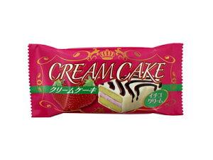 30円 クリームケーキ イチゴ&ミルク味 20入【駄菓子】
